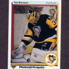 1990-91 Upper Deck Hockey #121 Tom Barrasso - Pittsburgh Penguins