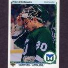 1990-91 Upper Deck Hockey #069 Peter Sidorkiewicz - Hartford Whalers