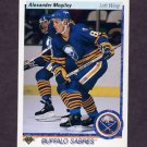 1990-91 Upper Deck Hockey #024 Alexander Mogilny RC - Buffalo Sabres
