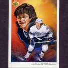 1992-93 Upper Deck Hockey #008 Luc Robitaille / Los Angeles Kings Team Checklist