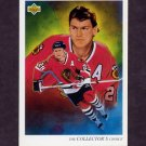 1992-93 Upper Deck Hockey #004 Steve Larmer / Chicago Blackhawks Team Checklist