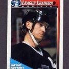 1991-92 O-Pee-Chee Hockey #224 Wayne Gretzky LL - Los Angeles Kings
