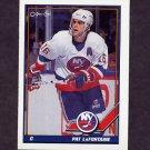 1991-92 O-Pee-Chee Hockey #080 Pat LaFontaine - New York Islanders