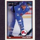 1991-92 O-Pee-Chee Hockey #064 Owen Nolan - Quebec Nordiques