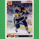 1992-93 Score Hockey #413 Mario Lemieux SL - Pittsburgh Penguins