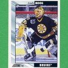 1992-93 Score Hockey #120 Andy Moog - Boston Bruins