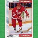 1992-93 Score Hockey #031 Vladimir Konstantinov - Detroit Red Wings