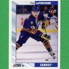 1992-93 Score Hockey #006 Pat LaFontaine - Buffalo Sabres