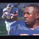 1995 Fleer Football Flair Preview #22 Rodney Hampton - New York Giants