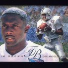 1995 Fleer Football Flair Preview #16 Tim Brown - Oakland Raiders