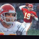 1995 Fleer Football Flair Preview #15 Joe Montana - Kansas City Chiefs