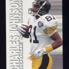 1995 Fleer Football Rookie Sensations #10 Charles Johnson - Pittsburgh Steelers