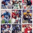 1995 Fleer Football TD Sensations Complete Insert Set 1-10 D. Marino / E. Smith / J. Rice / M. Faulk