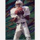 1995 Fleer Football Aerial Attack #1 Tim Brown - Oakland Raiders