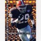 1995 Fleer Football Gridiron Leaders #08 Eric Turner - Cleveland Browns