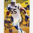1995 Fleer Football #338 Junior Seau - San Diego Chargers
