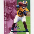 1995 Fleer Football #202 Isaac Bruce - St. Louis Rams