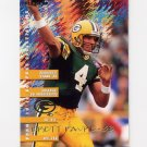 1995 Fleer Football #135 Brett Favre - Green Bay Packers