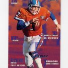1995 Fleer Football #110 John Elway - Denver Broncos