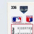 1991 Upper Deck Baseball #336 Jack Morris - Detroit Tigers Hologram Variation