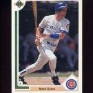 1991 Upper Deck Baseball #134 Mark Grace - Chicago Cubs