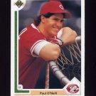 1991 Upper Deck Baseball #133 Paul O'Neill - Cincinnati Reds