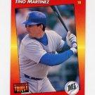 1992 Donruss Triple Play Baseball #259 Tino Martinez - Seattle Mariners