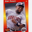 1992 Donruss Triple Play Baseball #202 Kirby Puckett - Minnesota Twins