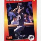 1992 Donruss Triple Play Baseball #127 Edgar Martinez - Seattle Mariners