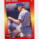1992 Donruss Triple Play Baseball #114 Mark Grace - Chicago Cubs