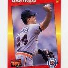 1992 Donruss Triple Play Baseball #086 Travis Fryman - Detroit Tigers