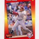 1992 Donruss Triple Play Baseball #038 John Kruk - Philadelphia Phillies