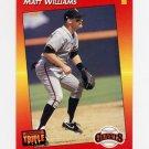 1992 Donruss Triple Play Baseball #004 Matt Williams - San Francisco Giants