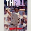 1993 Donruss Triple Play Baseball Nicknames #04 Will Clark - San Francisco Giants