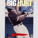 1993 Donruss Triple Play Baseball Nicknames #01 Frank Thomas - Chicago White Sox