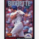 1993 Donruss Triple Play Baseball #154 Dante Bichette - Colorado Rockies