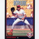 1993 Donruss Triple Play Baseball #139 John Kruk - Philadelphia Phillies