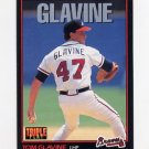 1993 Donruss Triple Play Baseball #117 Tom Glavine - Atlanta Braves