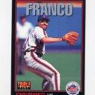 1993 Donruss Triple Play Baseball #090 John Franco - New York Mets