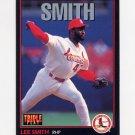 1993 Donruss Triple Play Baseball #083 Lee Smith - St. Louis Cardinals