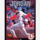 1993 Donruss Triple Play Baseball #062 Brian Jordan - St. Louis Cardinals