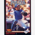 1993 Donruss Triple Play Baseball #055 Mike Piazza - Los Angeles Dodgers