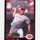 1993 Donruss Triple Play Baseball #052 Rob Dibble - Cincinnati Reds