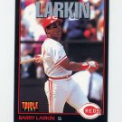 1993 Donruss Triple Play Baseball #031 Barry Larkin - Cincinnati Reds