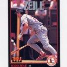 1993 Donruss Triple Play Baseball #024 Todd Zeile - St. Louis Cardinals
