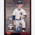 1993 Donruss Triple Play Baseball #011 Mark Grace LH - Chicago Cubs