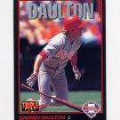1993 Donruss Triple Play Baseball #007 Darren Daulton - Philadelphia Phillies
