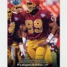 1995 Upper Deck Football Electric Silver #063 Ethan Horton - Washington Redskins