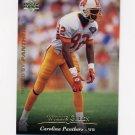 1995 Upper Deck Football #296 Willie Green - Carolina Panthers