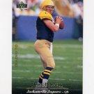 1995 Upper Deck Football #285 Mark Brunell - Jacksonville Jaguars NM-M